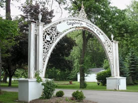 Victory Arch at the Cuyahoga County Fairgrounds