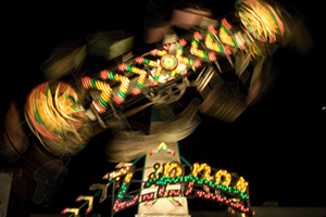 Midway Rides at the Cuyahoga County Fair