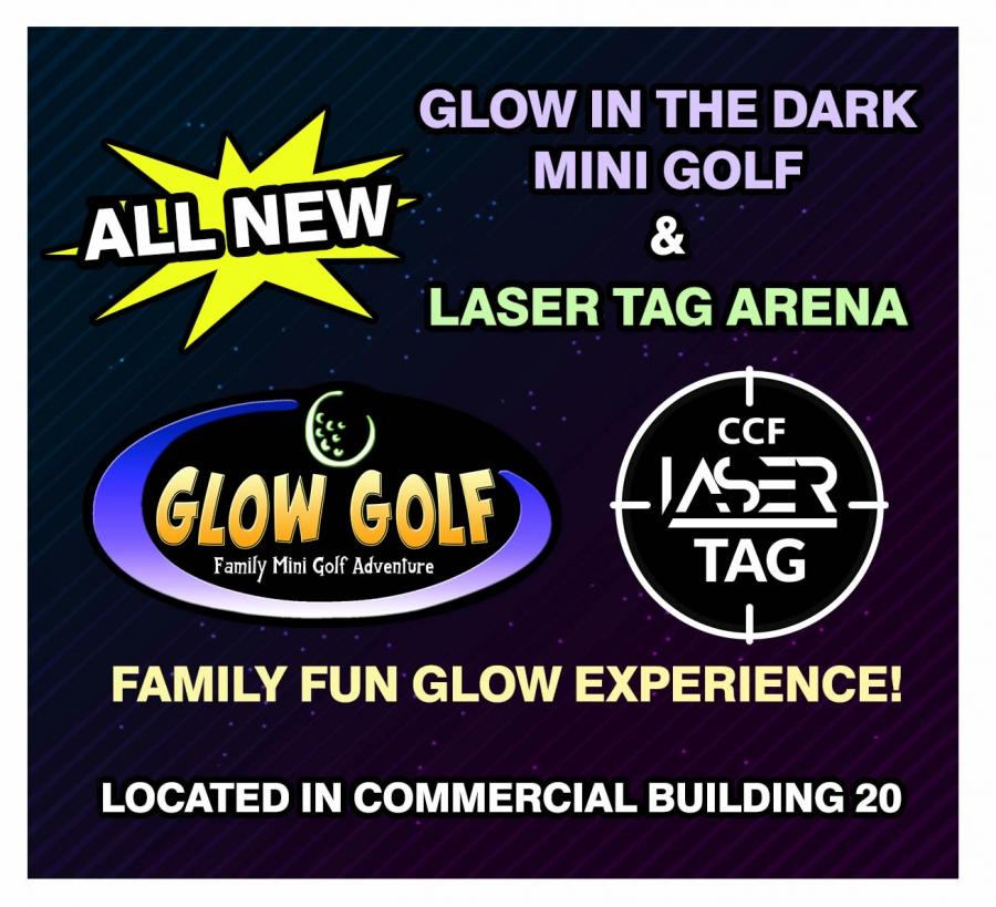 Glow in the Dark Mini Golf & Laser Tag