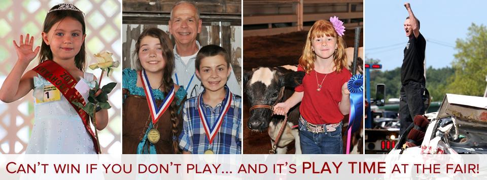 Play time at the Cuyahoga County Fair