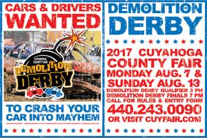 Cuyahoga County Fair Demolition Derby