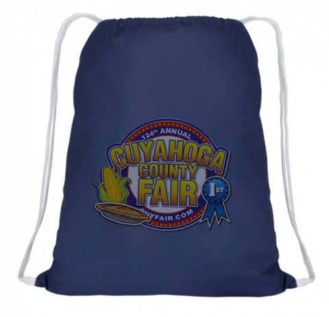 Build your own drawstring backpack at the Cuyhoaga County Fair