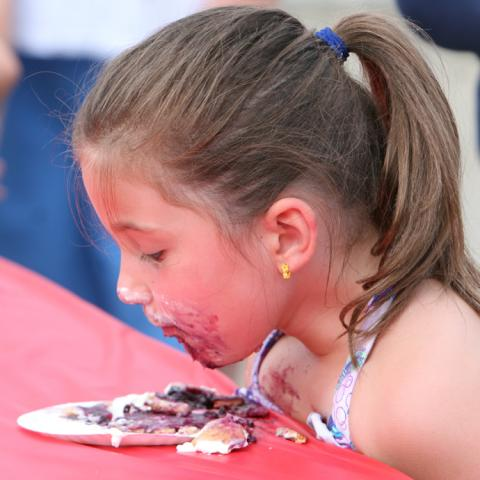 Youth Pie Eating Contest