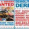 Cuyahoga County Fair Demolition Derby